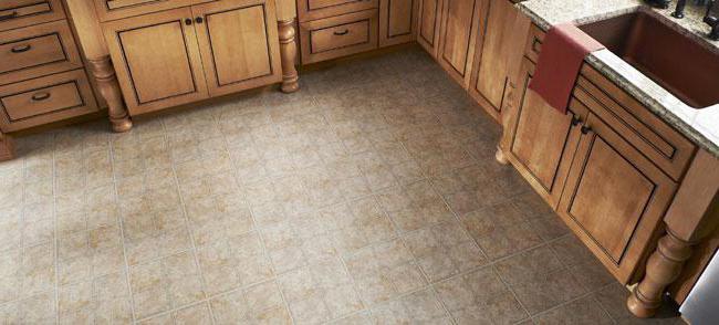 полы на кухне современные плитка