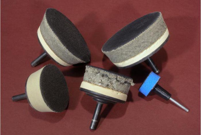 насадка на дрель для шлифовки поверхности