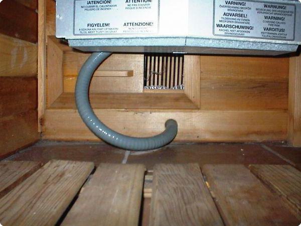 электропроводка в бане из сруба