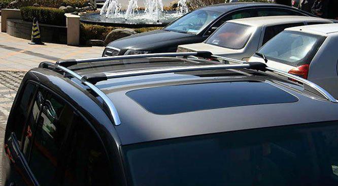 дуги на крышу автомобиля