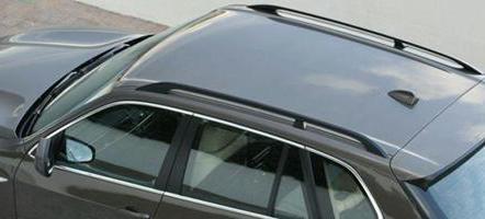 аэродинамические дуги на крышу автомобиля
