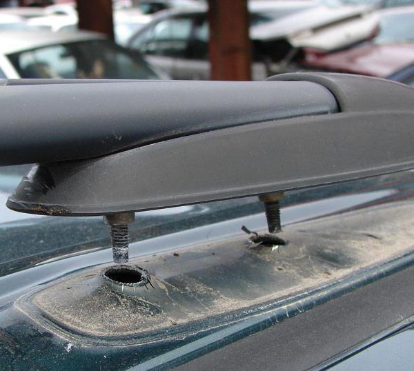продольные дуги на крышу автомобиля