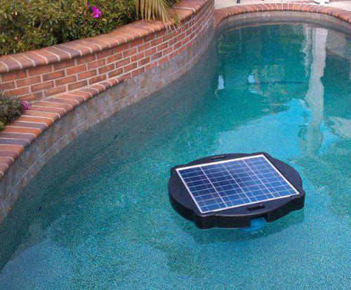 как нагреть в бассейне воду