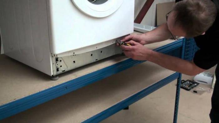 стиральная машина аристон вертикальная загрузка неисправности