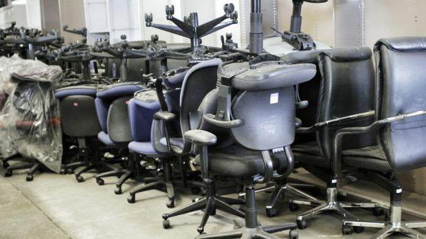 перетяжка кресла офисного