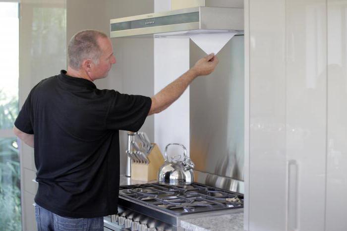 ремонт вытяжек кухонных