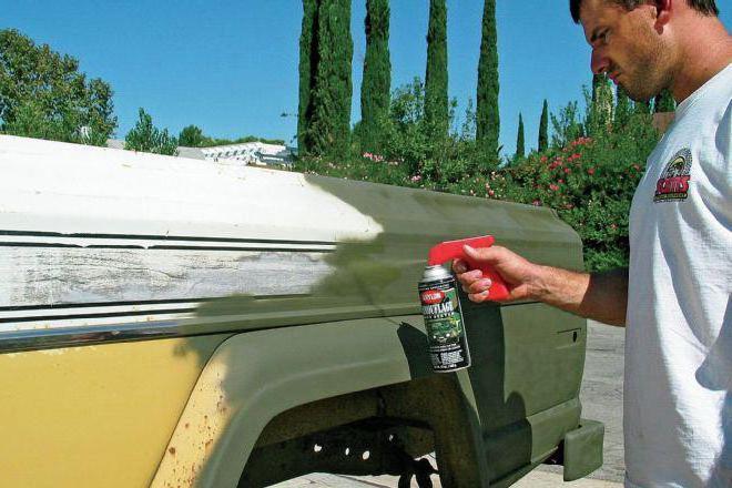 покраска авто баллончиком своими руками инструкция