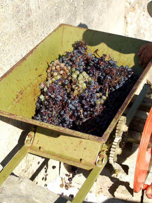 давилка для винограда с гребнеотделителем