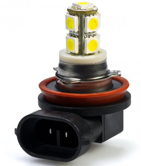 лампочка h11 55w