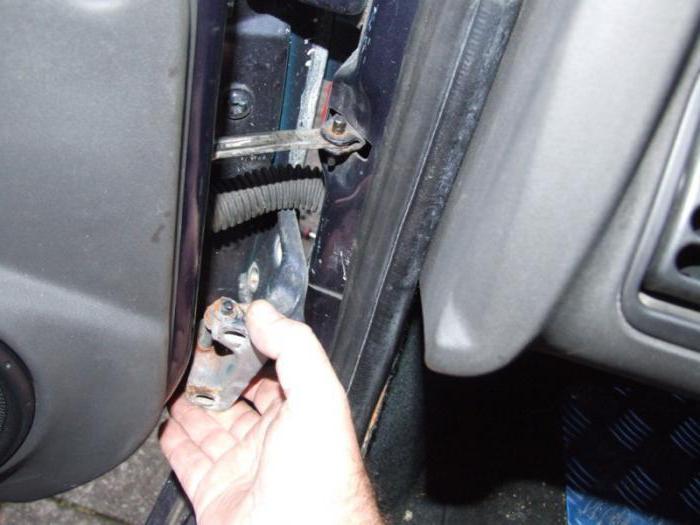 чем смазать петли дверей автомобиля на зиму лучше