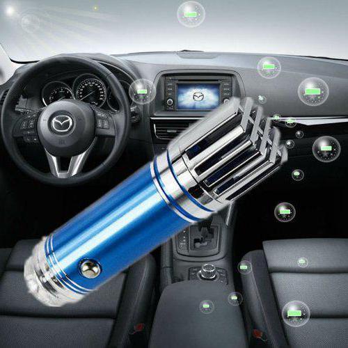 ионизатор воздуха автомобильный в прикуриватель