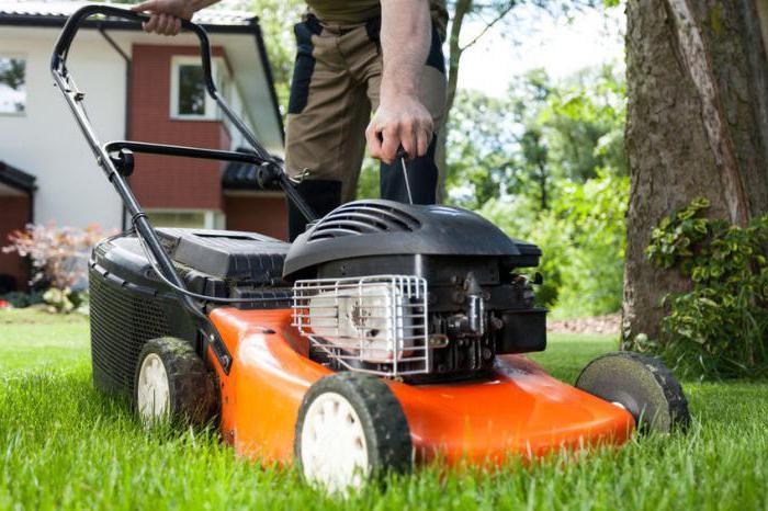 ремонт газонокосилки своими руками