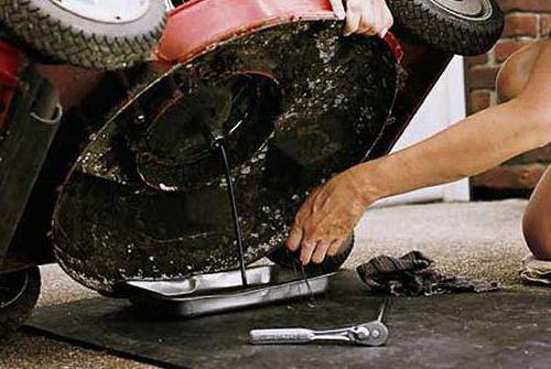 ремонт двигателя газонокосилки