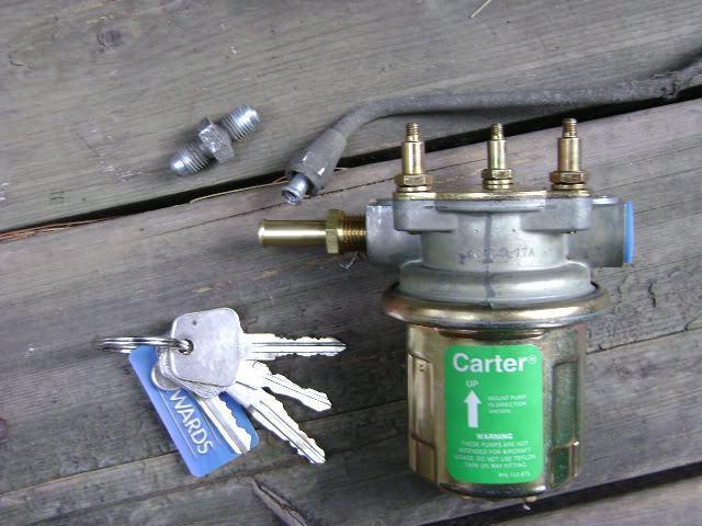 1541276 - Электрический топливный насос для карбюратора