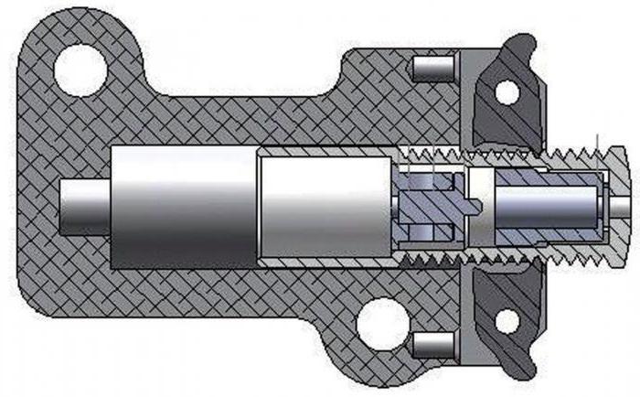 гидронатяжитель цепи 406