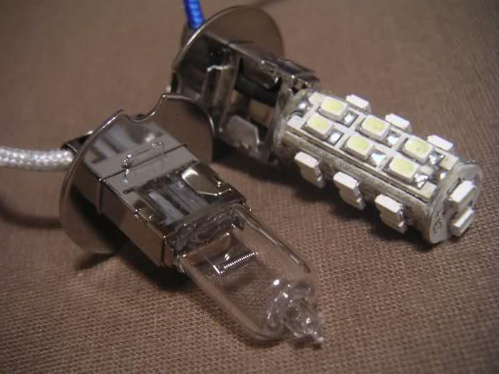 H3 лампочка для автомобиля виды характеристики