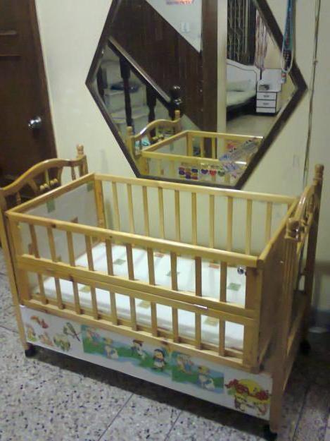 габариты детской кроватки