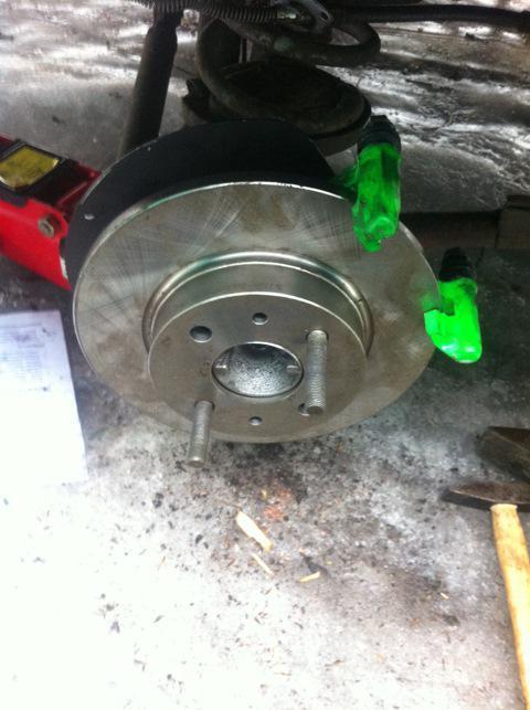 комплект задних дисковых тормозов на ваз 2107