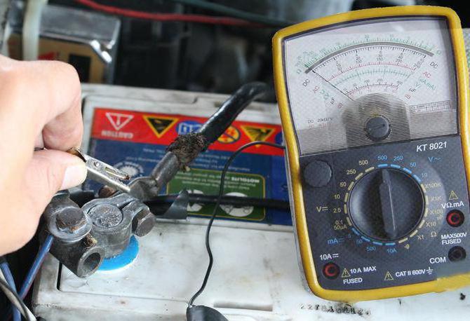 Потребляемый ток автомобиля на стоянке