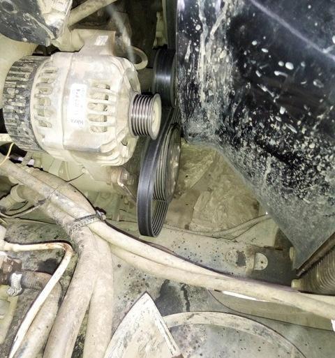 подключение генератора уаз