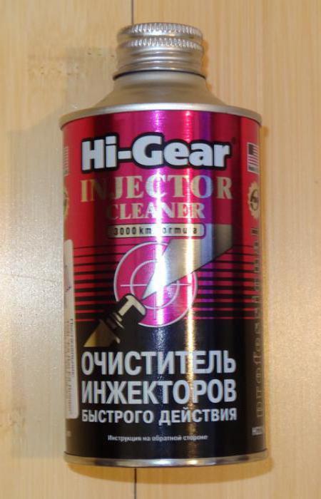 очиститель форсунок инжектора hi gear