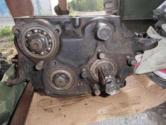 ремонт раздатки газ 69