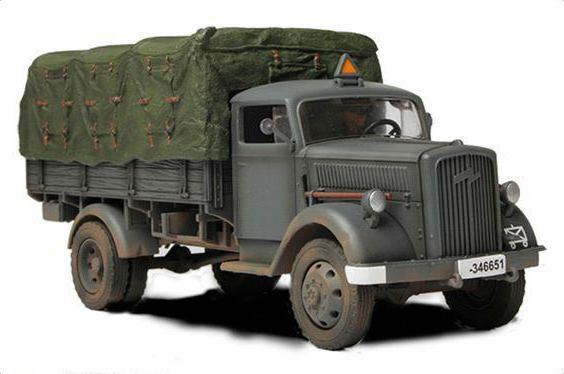 """Немецкий грузовик """"Опель Блиц"""": история и характеристики"""