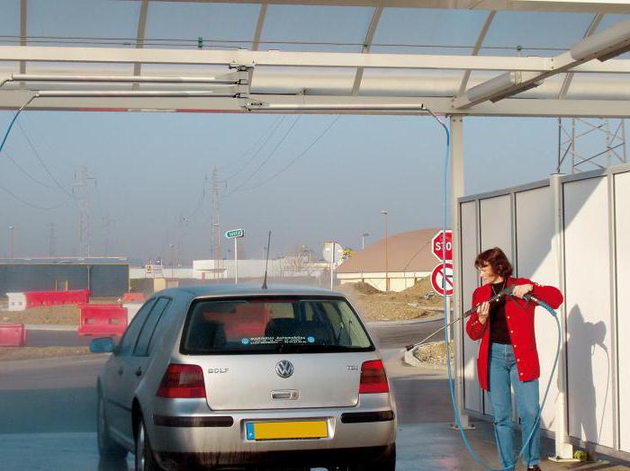 как мыть машину на мойке самообслуживания зимой