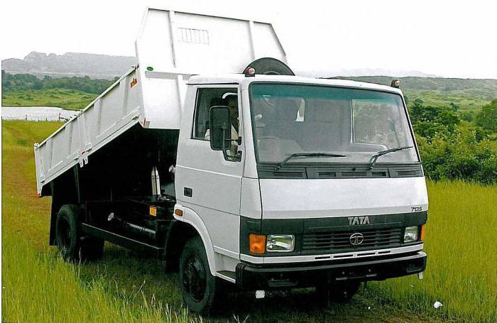 индийский грузовик тата 613