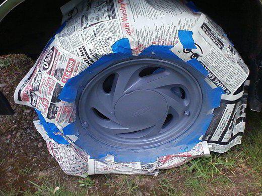 покраска штампованных дисков своими руками
