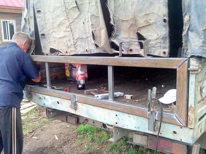 Усилить кузов газели своими руками фото 878