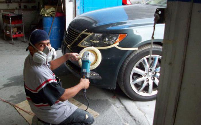 Качественная покраска и ремонт бампера своими руками
