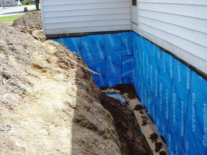 Чего и гидроизоляция нужно пароизоляция для