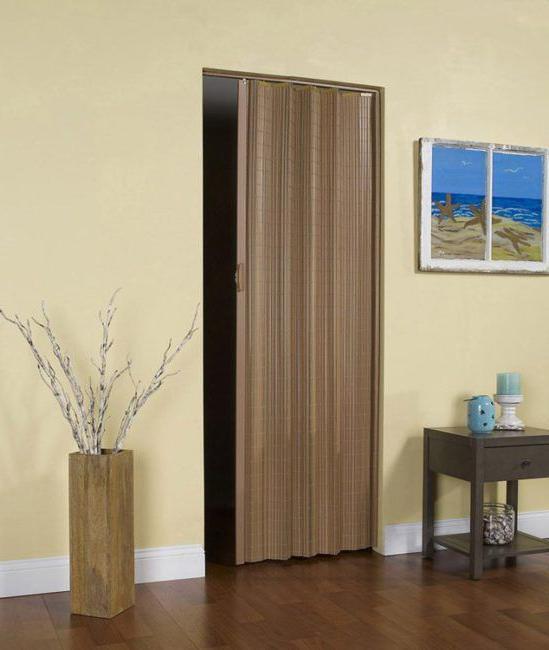 Установка двери-гармошки - особенности, пошаговое описание и отзывы