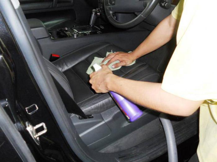 средство для химчистки салона автомобиля