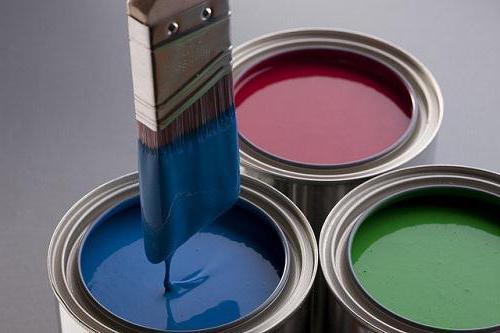 чем эмаль отличается от масляной краски в чем разница