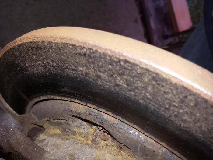 нормы износа тормозных дисков