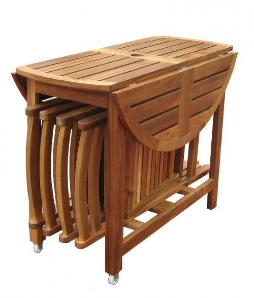 Кухонный стол овальный раскладной