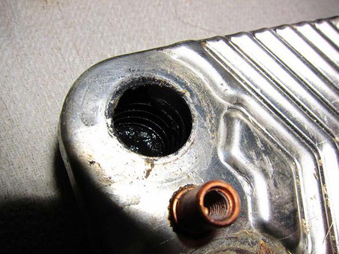 почистить теплообменник газового