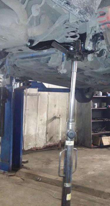 ремонт рычагов передней подвески