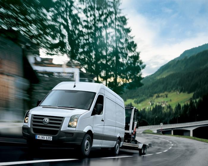 «Фольксваген Крафтер» – хороший грузовик для коммерческой деятельности
