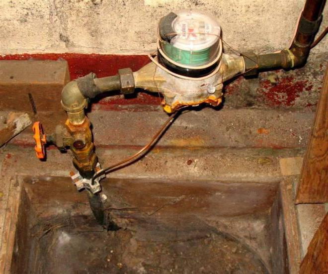 замена счетчика горячей воды своими руками