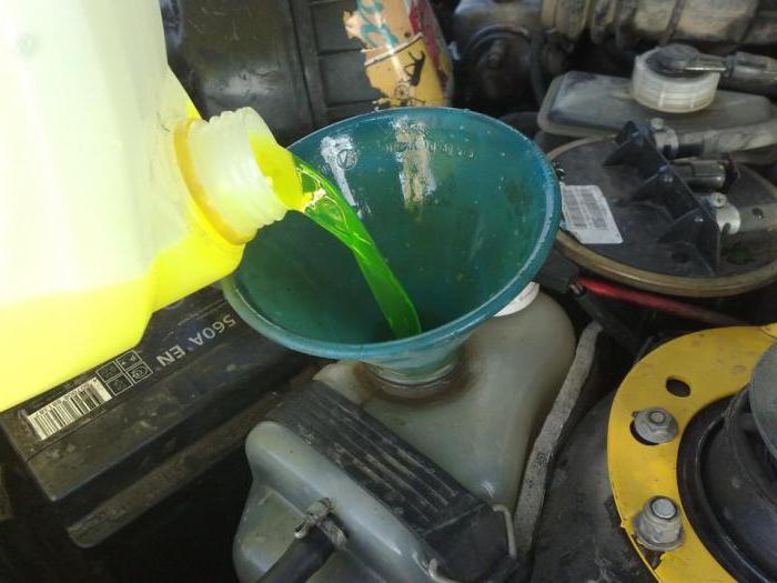 замена антифриза ваз 2114