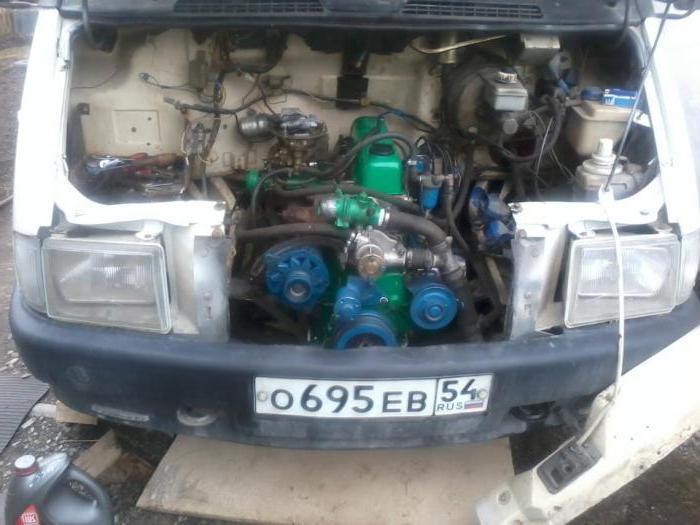 система охлаждения двигателя 402 газель