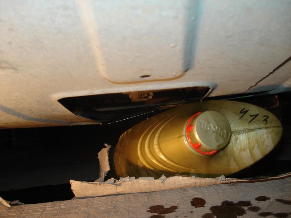 масло в коробку приора