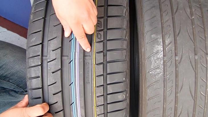 индикатор износа протектора шины
