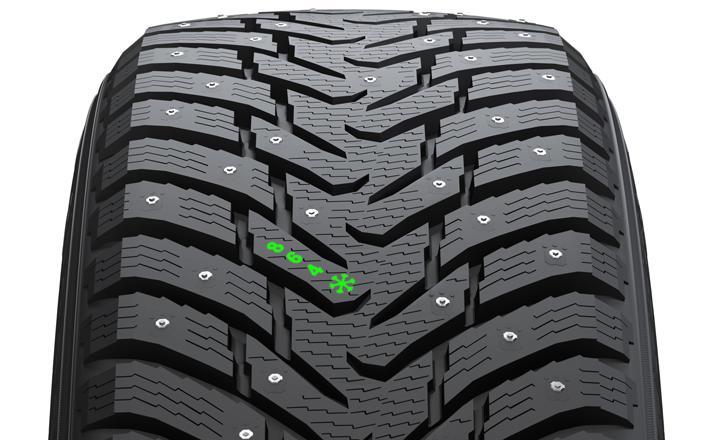 Индикатор износа протектора шины: расположение и расшифровка