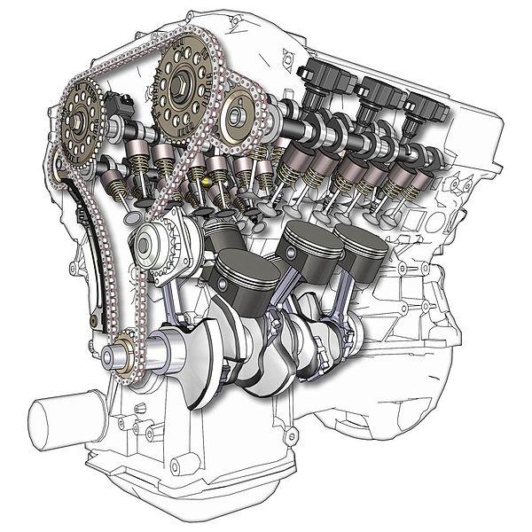 двигатель v6 2,5