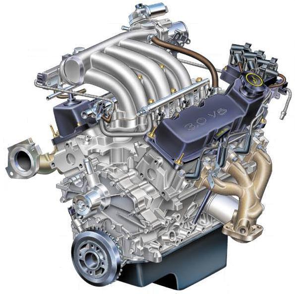 двигатель v6 отзывы