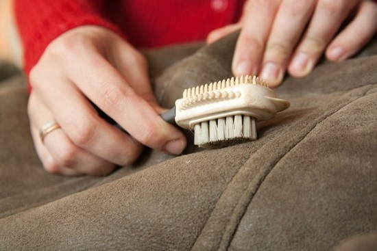 how to clean a natural sheepskin coat at home